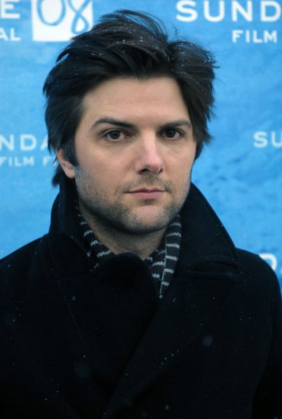 Actor Adam Scott attends the premiere of his film August at the Library Center Theater during the Sundance Film Festival in Park City, Utah on January 22, 2008. (UPI Photo/Alexis C. Glenn)