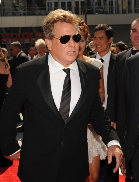 Actor Ryan O'Neal arrives at the Creative Arts Emmy Awards in Los Angeles on September 12, 2009. UPI/Jim Ruymen