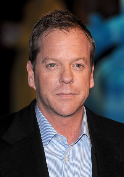 American actor Kiefer Sutherland attends the premiere of Monsters Vs Aliens at Vue, Leicester Square in London on March 11, 2009. (UPI Photo/Rune Hellestad)