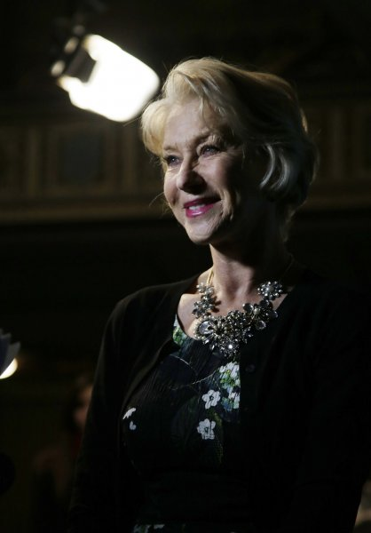 Helen Mirren will reprise Queen Elizabeth II for 'The Audience.' File Photo by John Angelillo/UPI