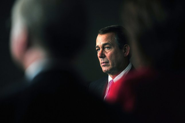 House Speaker elect John Boehner (R-OH) attends a press conference on the GOP agenda for the 112th Congress on Capitol Hill in Washington on November 18, 2010. UPI/Kevin Dietsch
