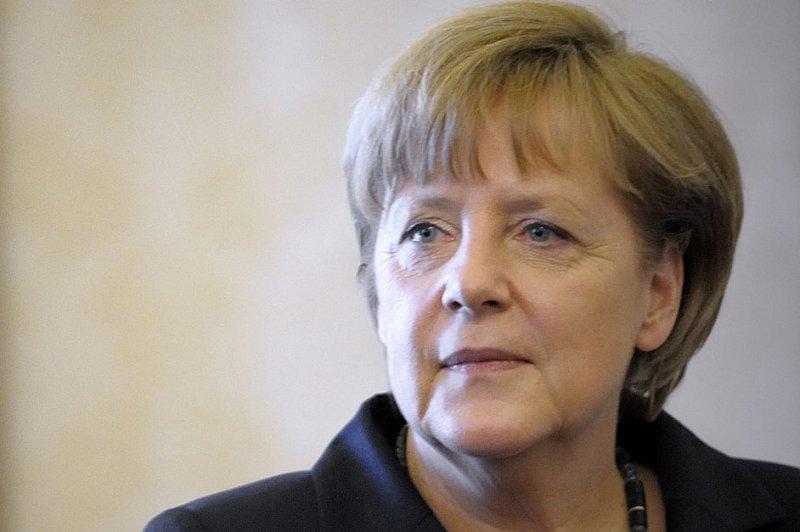 German Chancellor Angela Merkel. (UPI/Stefano Spaziani)