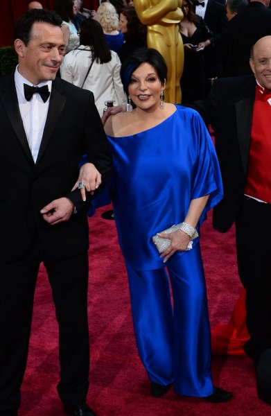 Liza Minnelli arrives on the red carpet at the 86th Academy Awards at the Hollywood and Highland Center in Los Angeles on March 2, 2014. The actor turns 75 on March 12. File Photo by Jim Ruymen/UPI