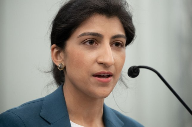 Lina Khan was confirmed to the Federal Trade Commission with 69 votes from the Senate. File photo by Saul Loeb/UPI