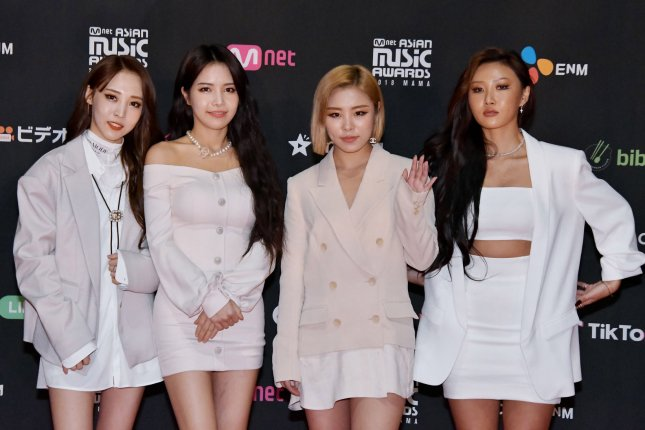 Mamamoo will release the compilation album I Say Mamamoo: The Best in September. File Photo by Keizo Mori/UPI