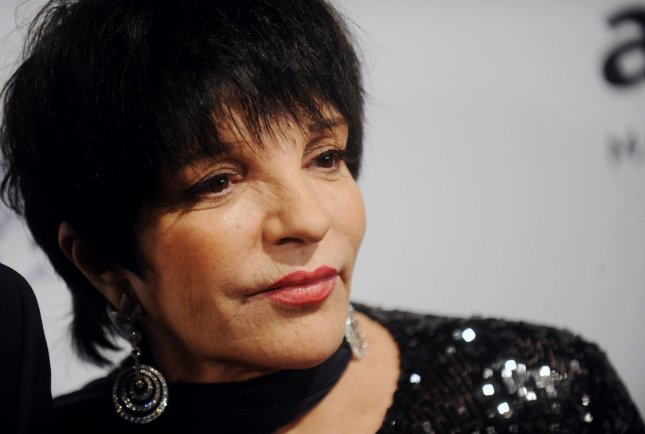 Liza Minnelli arrives on the red carpet at the amfAR Inspiration Gala at The Plaza in New York City on June 13, 2013. UPI/Dennis Van Tine