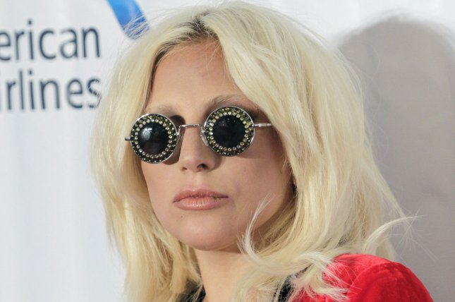 Lady Gaga at the Songwriters Hall of Fame induction ceremony on June 18. The singer teased plans for her fifth studio album Monday on Instagram. File photo by John Angelillo/UPI