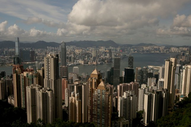 A new immigration bill is to go into effect on August 1 in Hong Kong. Authorities say the law applies only to inbound travelers but activists disagree. File Photo by Stephen Shaver/UPI