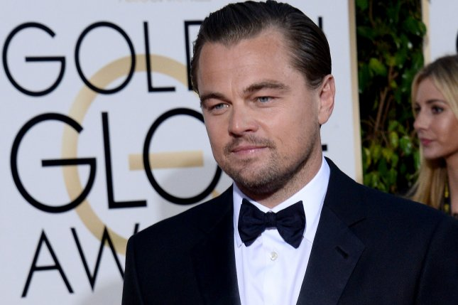 Actor Leonardo DiCaprio attends the 73rd annual Golden Globe Awards on Sunday. DiCaprio was spotted partying with fellow celebrities Orlando Bloom and Kevin Connolly Tuesday night during Stella McCartney's Autumn 2016 Presentation. Photo by Jim Ruymen/UPI