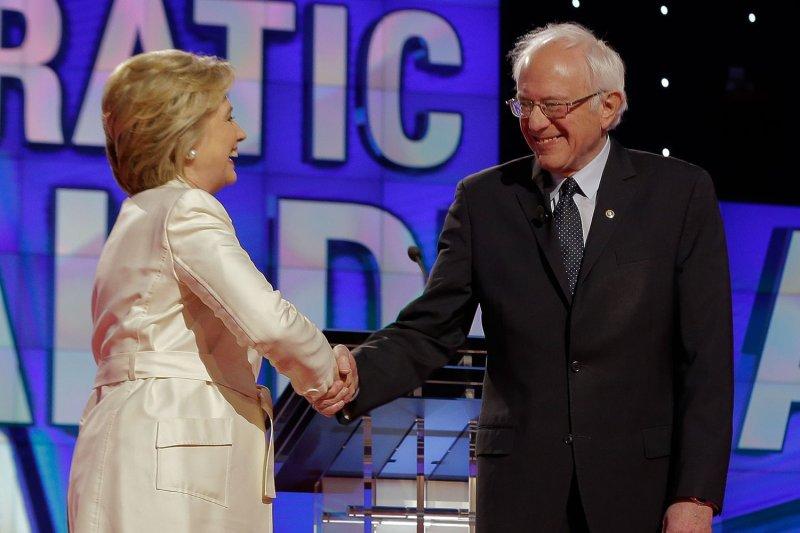 Clinton's judgment, Sanders' Wall Street plan questioned in New York debate