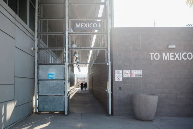 Port of Entry in San Ysidro, California. On Jan. 25, the United States announced it will return 20 asylum seekers to wait in Mexico while their claim is processed, initiating new protocols. Photo by Ariana Drehsler/UPI