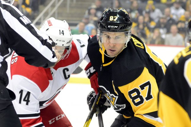 0e0c34fb36c Pittsburgh Penguins center Sidney Crosby (87) said he won't play at the  2019 IIHF World Championship. The Penguins were swept by the New York  Islanders in ...
