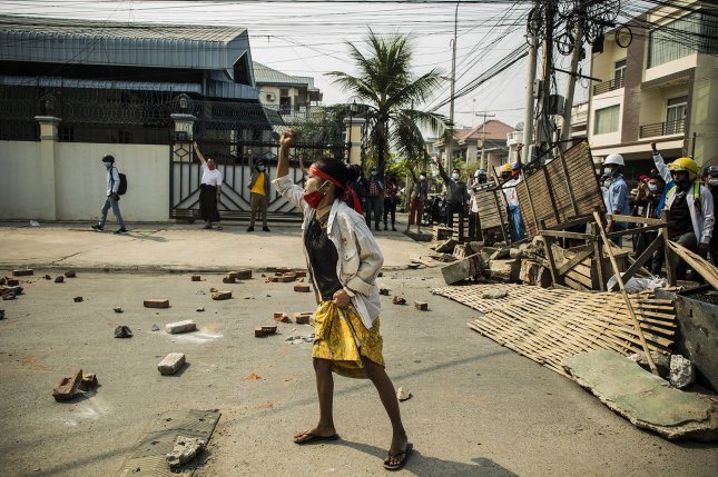The Myanmar military has been increasing violence and blocking aid in ethnic minority areas, leading to a deepening humanitarian crisis, activists said on Friday. File Photo by Xiao Long/UPI