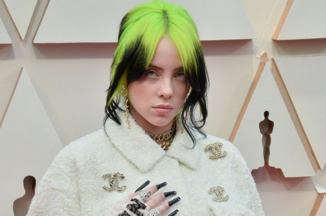Billie Eilish will perform at the 2021 iHeartRadio Music Festival along with Coldplay, Dua Lipa, Nelly, Weezer and more. File Photo by Jim Ruymen/UPI