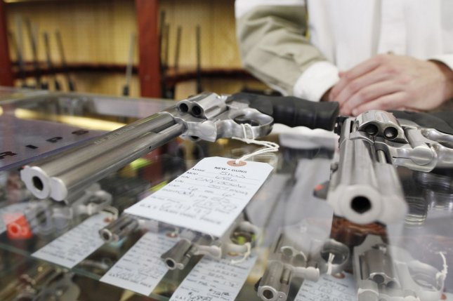 The Mexican government sued 10 major U.S. gun manufacturers alleging that they knowingly contribute to the flow of illegal weapons into the hands of drug cartels and other criminals. File Photo by Brian Kersey/UPI