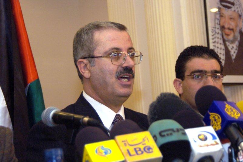Dr. Rami Hamdallah, Prime Minister of the Palestinian Territories (UPI Photo/Debbie Hill)