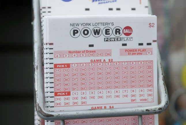 With no jackpot winners in Wednesday's Powerball lottery, the estimated prize in Saturday's drawing will be $675 million. Photo by John Angelillo/UPI