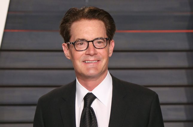 Kyle MacLachlan at the Vanity Fair Oscar party on February 28. The actor plays Dale Cooper on Twin Peaks. File Photo by David Silpa/UPI