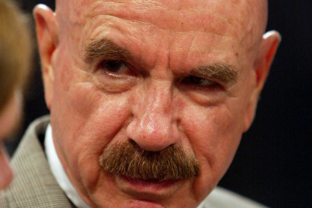 G. Gordon Liddy, who was convicted for his role in coordinating the Watergate break-in that led to President Richard Nixon's resignation, died on Tuesday. He was 90. File Photo byBill Greenblatt/UPI