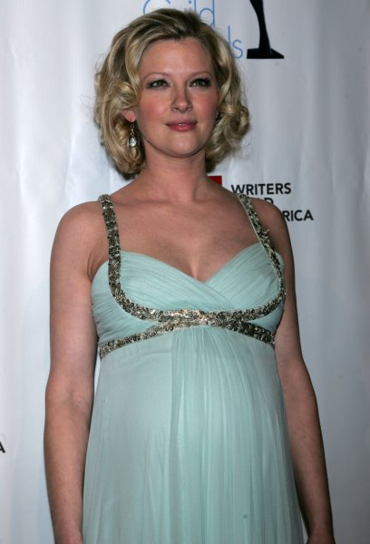 Gretchen Mol arrives for the Writers Guild Awards at the AXA Equitable Center in New York on February 5, 2011. UPI /Laura Cavanaugh