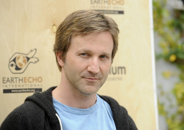 Breckin Meyer attends the Last Night I Swam With a Mermaid Earth Day event at the Annenberg Community Beach House in Santa Monica, California on April 22, 2012. UPI/Phil McCarten