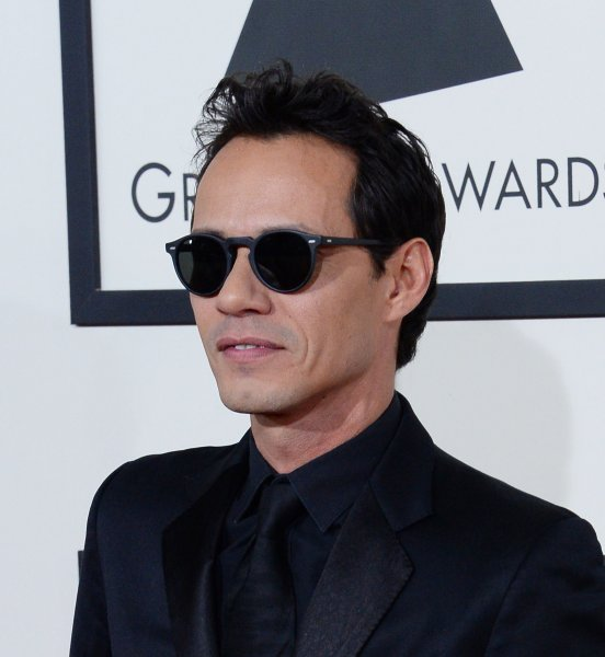Recording artist/actor Marc Anthony arrives for the 56th annual Grammy Awards at Staples Center in Los Angeles on January 26, 2014. UPI/Jim Ruymen