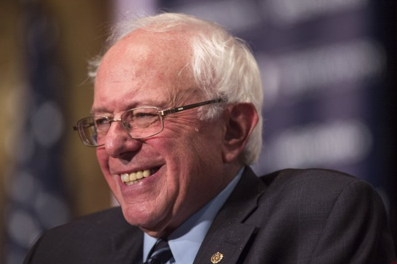 Democratic candidate for president Sen. Bernie Sanders (I-VT) speaks on Democratic Socialism at Georgetown University in Washington, D.C. on November 19, 2015. Photo by Kevin Dietsch/UPI
