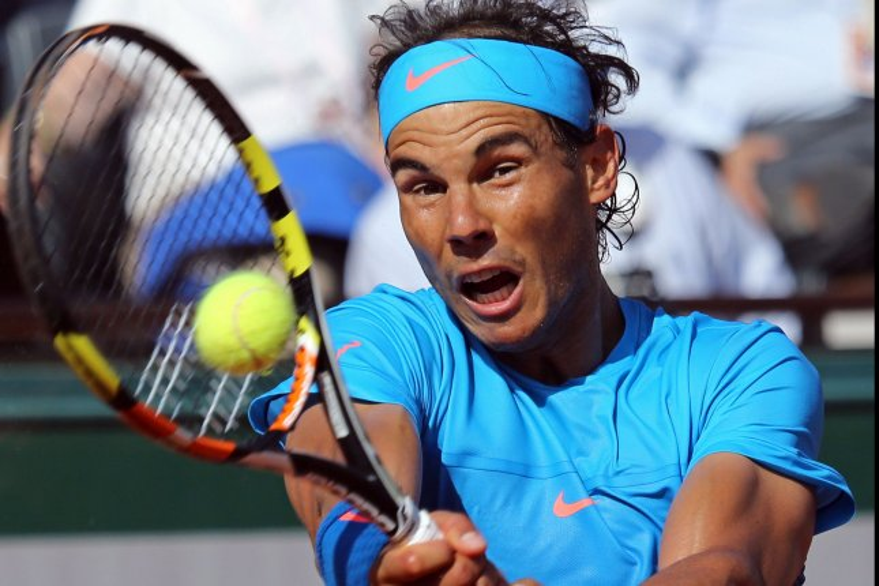 Rafael Nadal of Spain. Photo by David Silpa/UPI