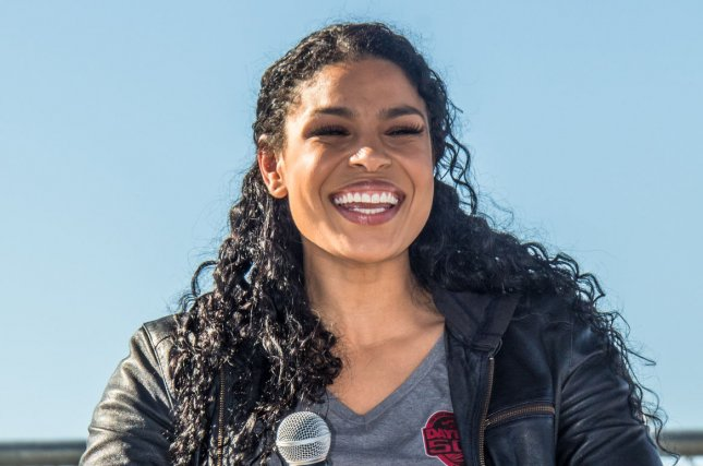 Jordin Sparks said Tuesday that she's pregnant and expecting her first child with husband Dana Isaiah. File Photo by Edwin Locke/UPI