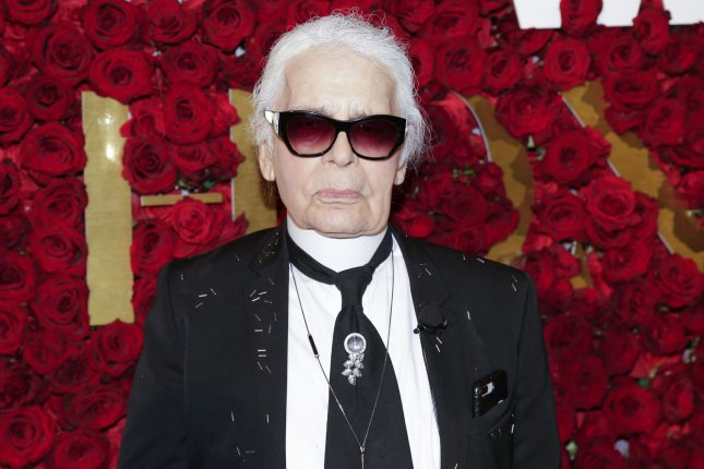 Karl Lagerfeld, the creative director of Chanel, has died at the age of 85. File Photo by John Angelillo/UPI