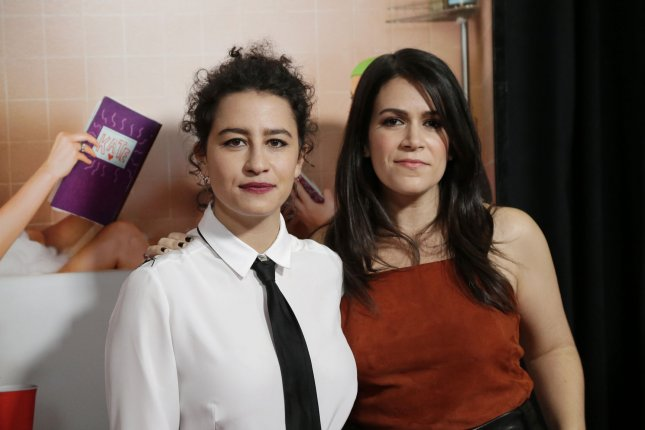 Abbi Jacobson (R) and Ilana Glazer shared their plans on Today ahead of the Broad City series finale. File Photo by John Angelillo/UPI