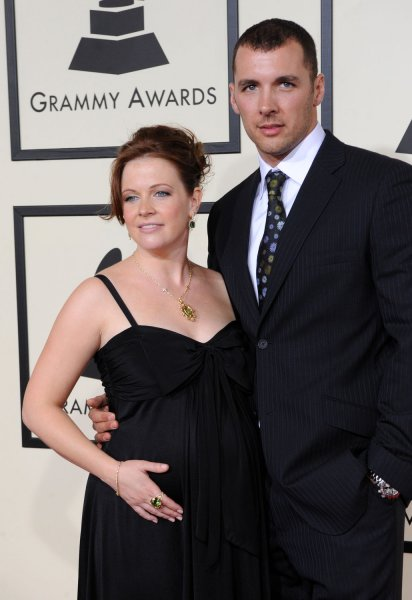 Actress Melissa Joan Hart and Mark Wilkerson arrive for the 50th annual Grammy Awards at Staples Center in Los Angeles on February 10, 2008. (UPI Photo/Jim Ruymen)