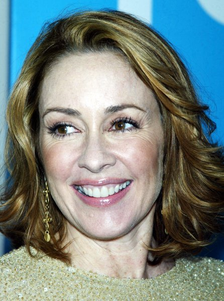 Patricia Heaton of the show Back to You arrrives at the Fox 2007 Programming Presentation at Wollman Rink in Central Park in New York on May 17, 2007. (UPI Photo/Laura Cavanaugh)