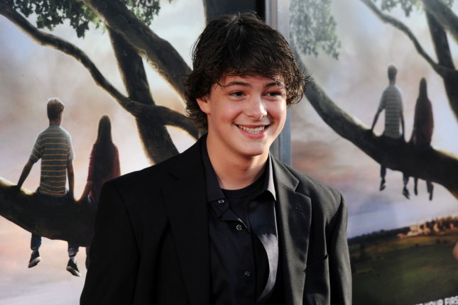 Cast member Israel Broussard attends the premiere of Flipped in Los Angeles on July 26, 2010. The actor's latest movie Happy Death Day is No. 1 at the box office this weekend. File Photo by Jim Ruymen/UPI