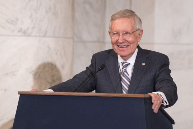 Former Sen. Harry Reid will undergo chemotherapy after having surgery to have a tumor removed from his pancreas. File Photo by Kevin Dietsch/UPI