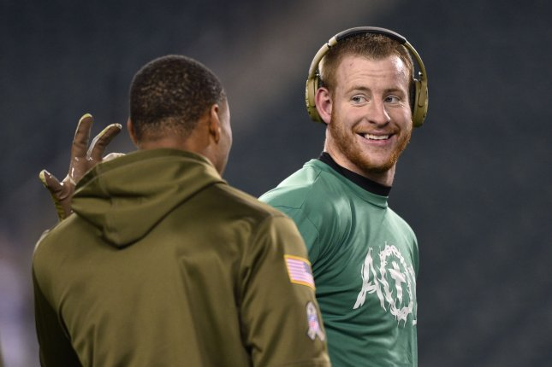 half off 24deb 34d5a Philadelphia Eagles sign QB Carson Wentz to contract ...