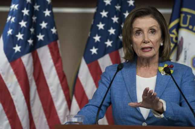 U.S. House Speaker Nancy Pelosi was the target of a North Korean condemnation on Tuesday. File Photo by Sarah Silbiger/UPI
