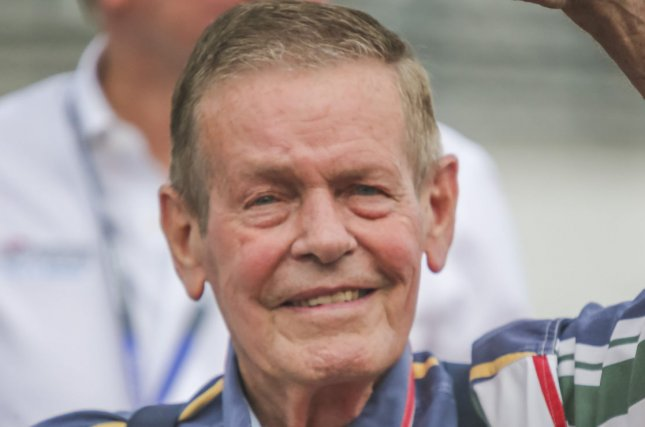 Racing legend Bobby Unser, who won the Indianapolis 500 three times, died Sunday at his home in Albuquerque. File Photo by Mike Gentry/UPI
