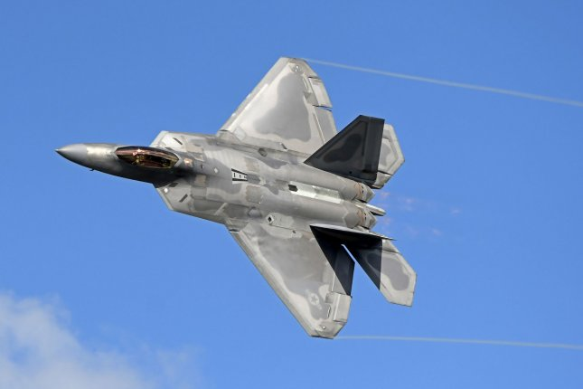 The State Department accused Honeywell of sharing technical drawings with foreign nations concerning components of the the F-22 Raptor. Photo by Joe Marino/UPI