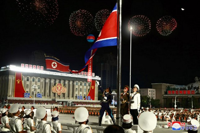 North Korean state media said Monday that the removal of missile restrictions on South Korea by the United States was a hostile act. File photo by KCNA/UPI