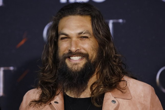 Jason Momoa appeared on the latest episode of Jimmy Kimmel Live, which was guest hosted by Anthony Anderson. File Photo by John Angelillo/UPI