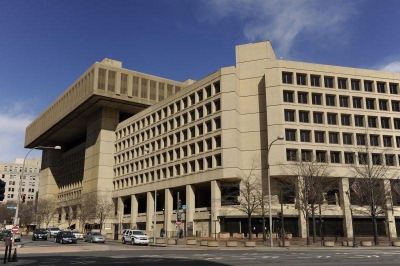 The J. Edgar Hoover Federal Bureau of Investigation building is seen in Washington. UPI/Roger L. Wollenberg