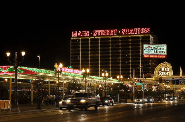 The Main Street Station Hotel and Casino is seen in Las Vegas, Nevada on April 19, 2010. UPI/Alexis C. Glenn