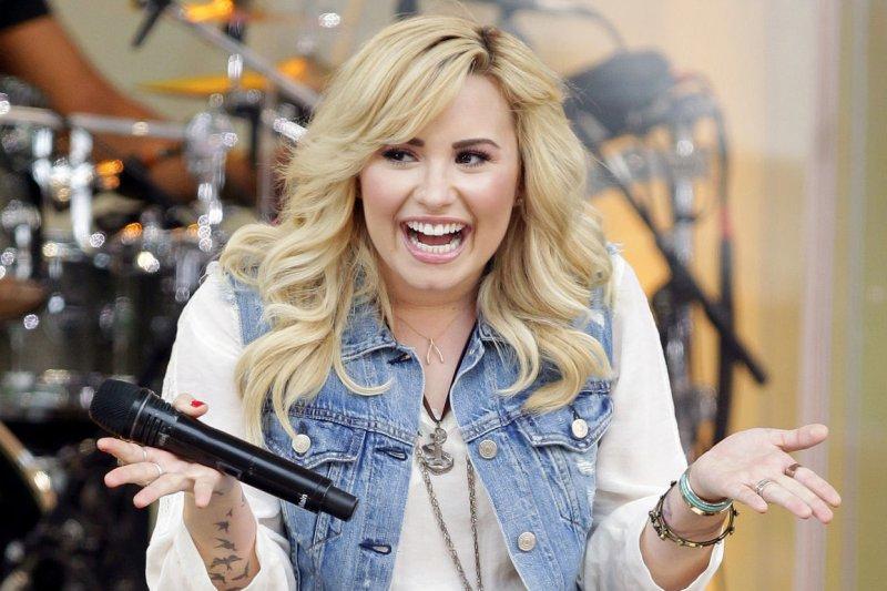 Demi Lovato. UPI/John Angelillo