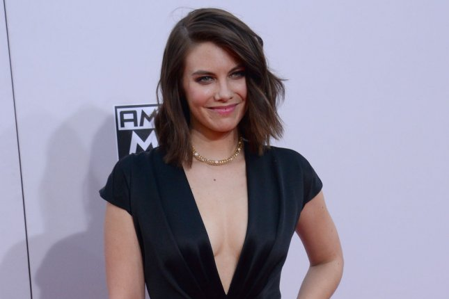 Actress Lauren Cohan arrives for the 42nd annual American Music Awards held at Nokia Theatre L.A. Live in Los Angeles on Nov. 23, 2014. Photo by Jim Ruymen/UPI