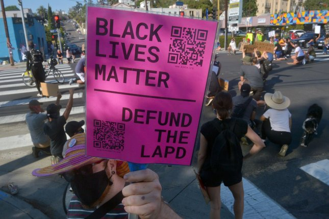 The Minneapolis City Council on Friday unanimously passed a resolution to pursue a community-led public safety system to replace the police department following the death of George Floyd at the hands of police. Photo by Jim Ruymen/UPI