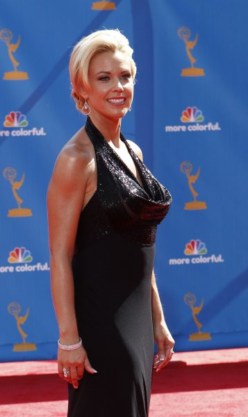 Kate Gosselin arrives at the 62nd Primetime Emmy Awards at the Nokia Theatre in Los Angeles on August 29, 2010. UPI/Lori Shepler