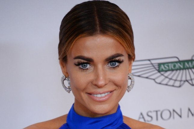 Actress Carmen Electra attends at the 21st annual Race To Erase MS gala at the Hyatt Regency Century Plaza in the Century City section of Los Angeles on May 2, 2014. UPI/Jim Ruymen