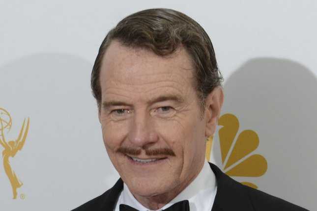 Bryan Cranston will write and co-executive produce 'Sneaky Pete' for CBS. Photo by Phil McCarten/UPI