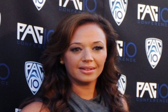 Leah Remini at the Fox Sports/PAC-10 Conference premiere on July 29, 2010. The actress will discuss her experience with Scientology on Thursday's episode of '20/20.' File photo by Jim Ruymen/UPI